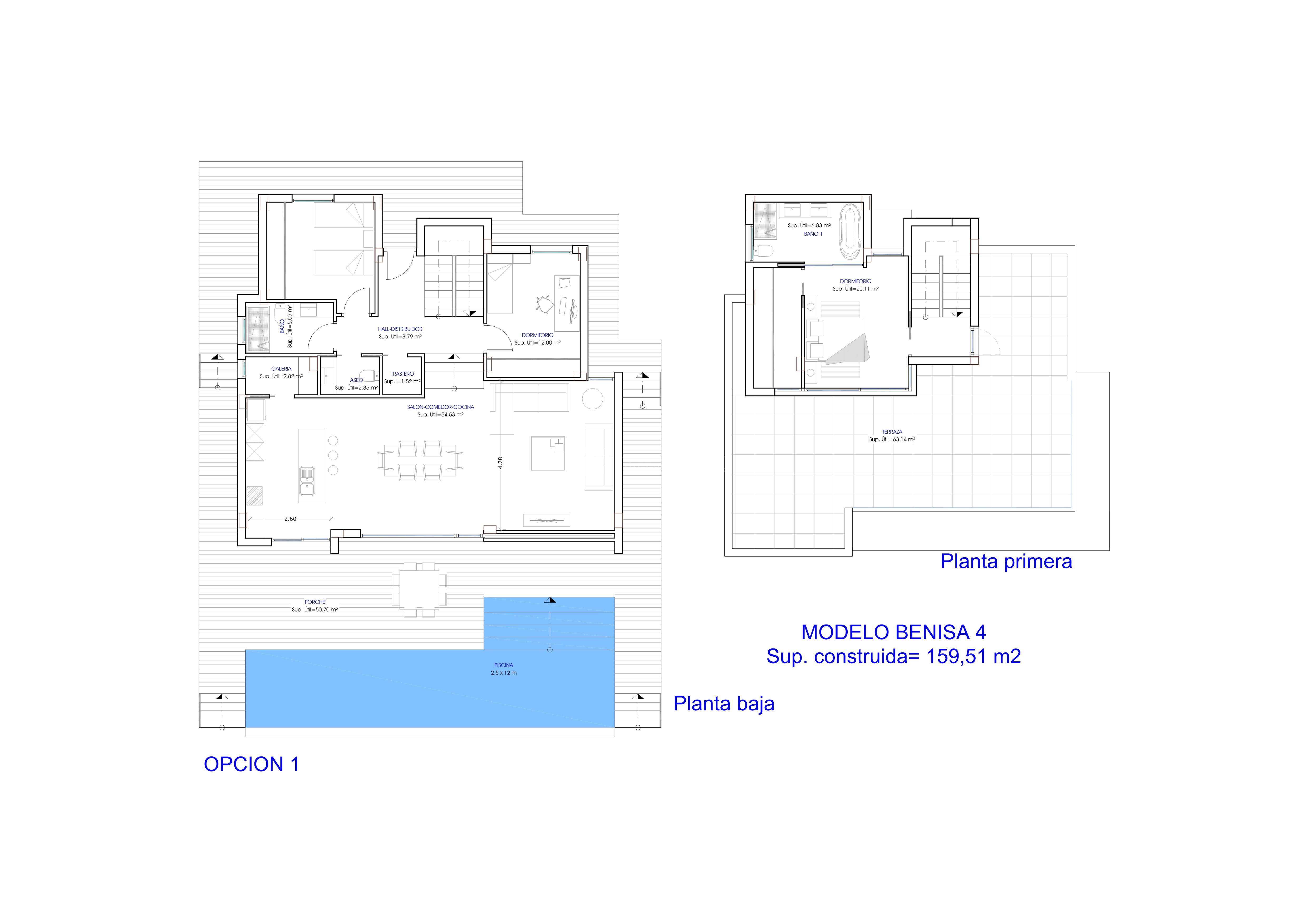 For sale villa in calpemoraira ref iberiaproperty 2955 for Floor plans for 160 000